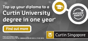 Study an internationally recognised Curtin University degree in Singapore